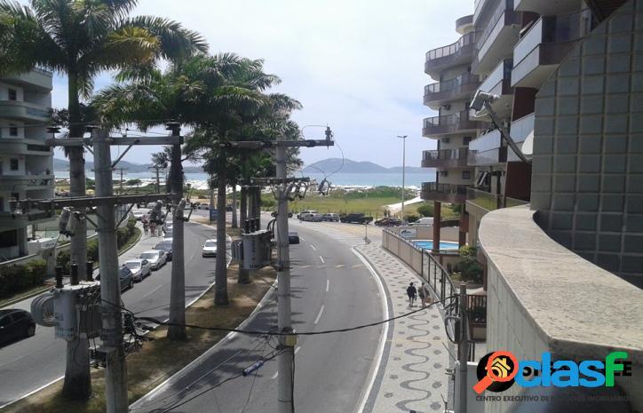 Apto de 3 quartos 1 suíte vista da Praia do Forte Cabo Frio