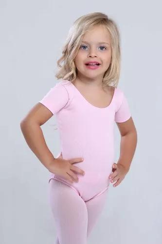 Collant Ballet Infantil Rosa