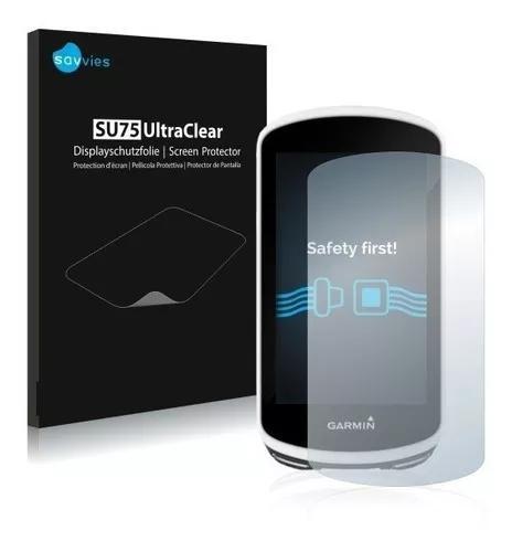 Kit 2 Peliculas Savvies Para Garmin Edge 1030 - Ultraclear