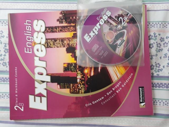 Livro de inglês English Express com CD