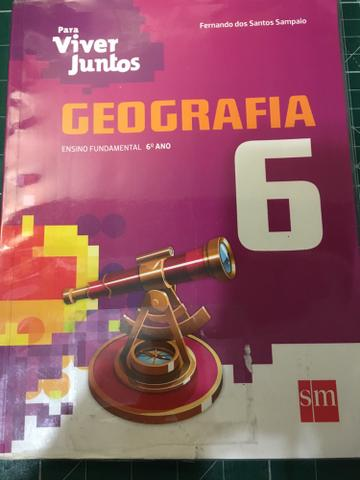 Livro geografia - para viver juntos 6