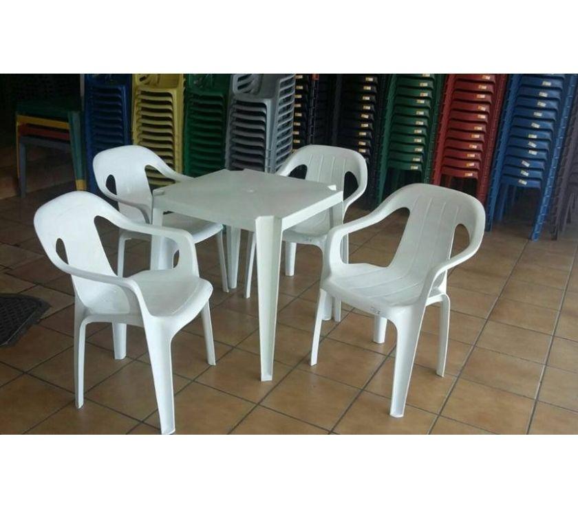 Mesas e Cadeiras Bistrô certificadas para até 182kg