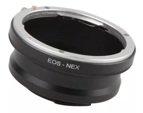 Anel Adaptador De Lente Canon Eos Ef Para Sony Nex E-mount