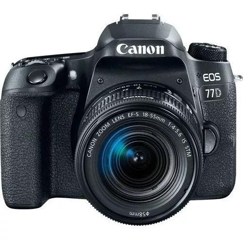 Canon 77d Com Lente 18-55mm Is Stm Aps-c Com Nota Fiscal