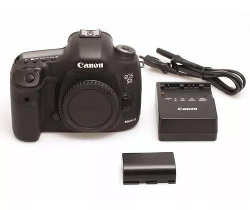 Câmera Canon Eos 5d Mkiii (corpo) Dslr Usada Perfeito