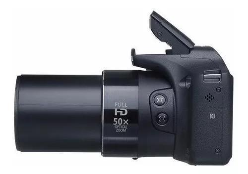 Câmera Canon Sx530 Hs Zoom 50x Wi-fi + Cartão De M