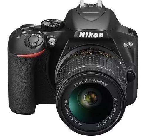Câmera Nikon D3500 Kit 18-55mm Lojista Promoção Envio