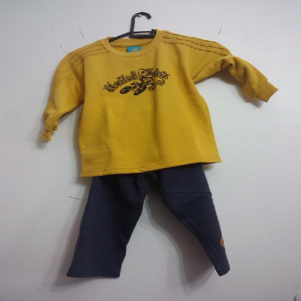 Fardo de roupas infantis, meninos e meninas, 300 unidades