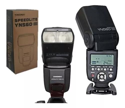 Flash Yongnuo Yn 560 Iii P Canon Nikon Não E Ttl Automatico