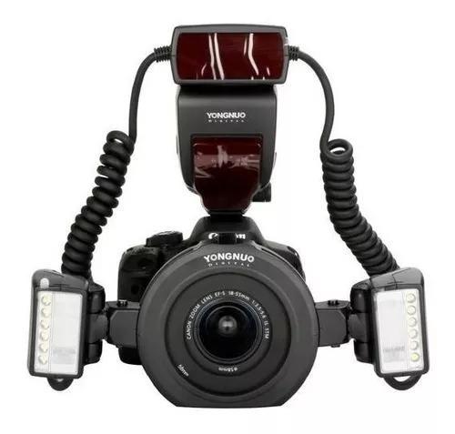 Flash Yongnuo Yn24 Ex Yn24ex Yn 24ex Ttl Macro Twin Canon