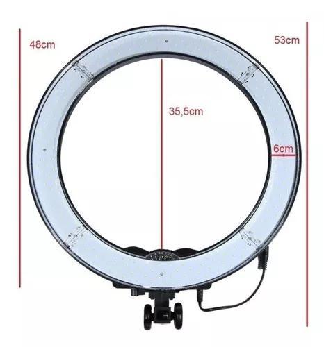 Iluminador Led Ring Light 18 Easy Rl18 48cm 80w Bicolor Make