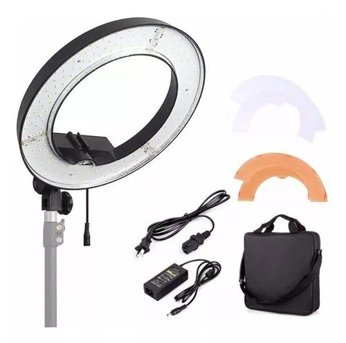 Iluminador Led Ring Light Circular Rl18 Greika C/ (nfe)