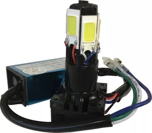 Lampada Led 6d H4 Tipo Xenon 6000k 4000 Lumens Moto