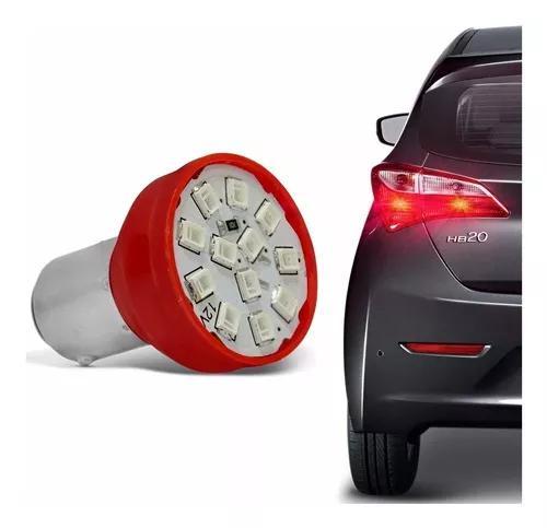 Lampada Tuning Leds Lanterna Traseira Pisca Seta Moto Carro