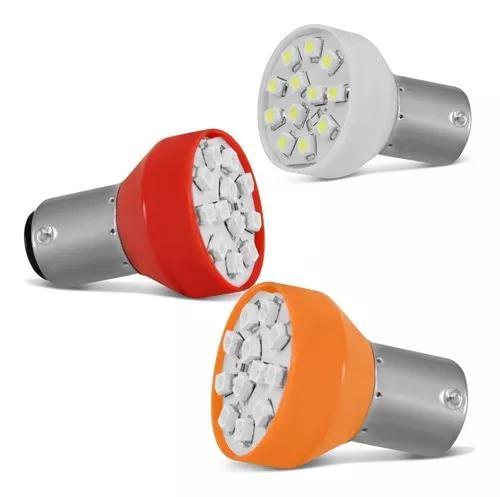 Lampadas Tuning Leds 8 Unidades Lanterna Traseira Seta E Ré