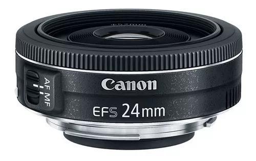 Lente Canon Nova 24mm F/2.8 Stm C/ Nf-e Garantia 1 Ano Canon