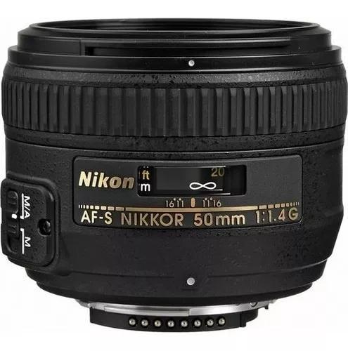 Lente Nikon 50mm F/1.4g Af-s Autofoco Garantia 1 Ano Nfe