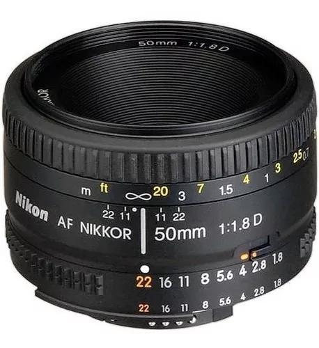 Lente Nikon 50mm F/1.8d Af Fx Garantia 1 Ano Pronta-entrega