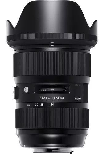 Lente Sigma 24-35mm F/2 Dg Hsm Série Art Autofoco Nikon Nfe