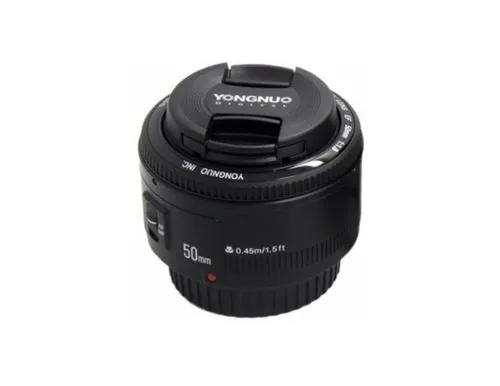 Lente Yongnuo 50mm F/1.8 Pronta Entrega P/ Canon