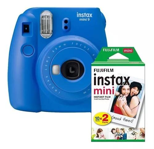 Máquina Fotográfica Instantânea Instax Mini 9 Filme 20