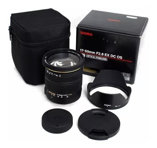Sigma 17-50mm F/2.8 Dc Ex Os Hsm Autof+estab Imag Nikon Nfe