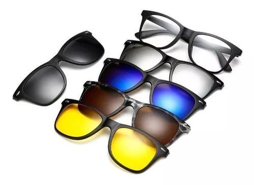 Armação Óculos Grau Clip On 6