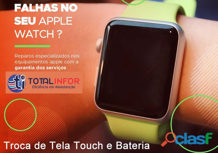 Assistência Técnica Apple Watch – serie 2, series 3