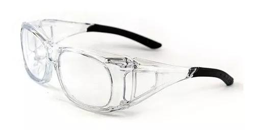 Kit 2 - Armação Óculos Proteção Para Lentes De Grau
