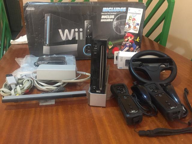 Nintendo Wii Completo com HD com jogos