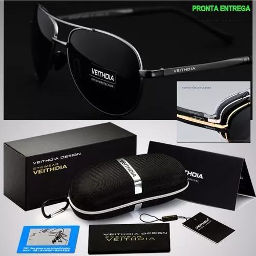 Oculos De Sol Polarizado Masculino F