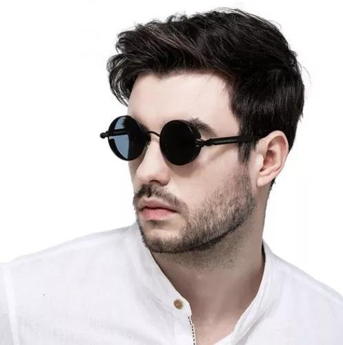 Oculos De Sol Redondo Haste Mola Retro Lennon Vintage