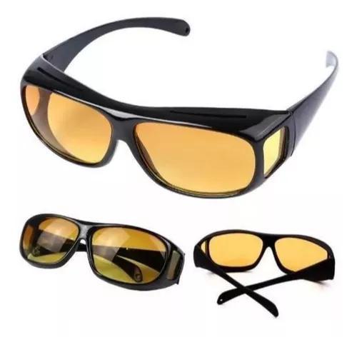 Sobrepor Sobre Óculos Grau Night Vision Amarelo Ou Preto