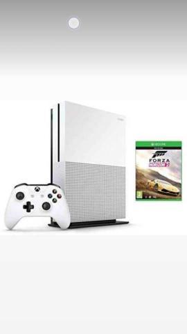 Xbox one s 1tb + forza horizon 2 1 ano de garantia