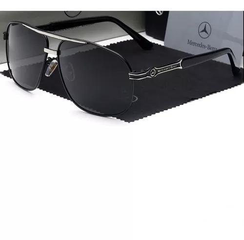 culos Sol Masculino Polarizado Mercedes Benz Pronta