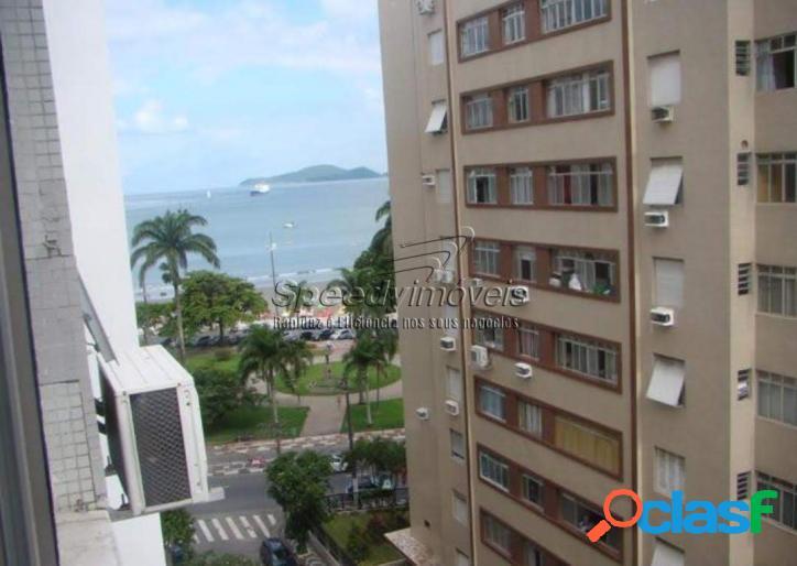 Apartamento em Santos 3 dormitórios.