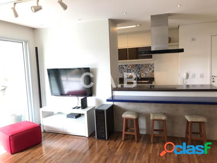 Apartamento semi mobiliado locação alphapark