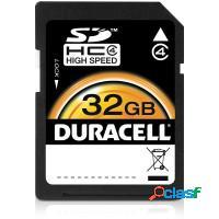 CARTAO DE MEMORIA CLASSE 4 SD/SDHC - DURACELL 32GB