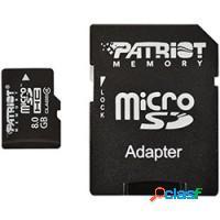 CARTAO DE MEMORIA CLASSE 4 SD/SDHC - PATRIOT 8GB