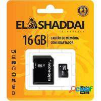 CARTAO DE MEMORIA SD/SDHC - 16GB ELSHADAY