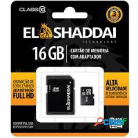 CARTAO DE MEMORIA SD/SDHC CLASSE 10 - 16GB ELSHADD
