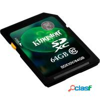 CARTAO DE MEMORIA SDXC CLASSE 10 KINGSTON - 64GB