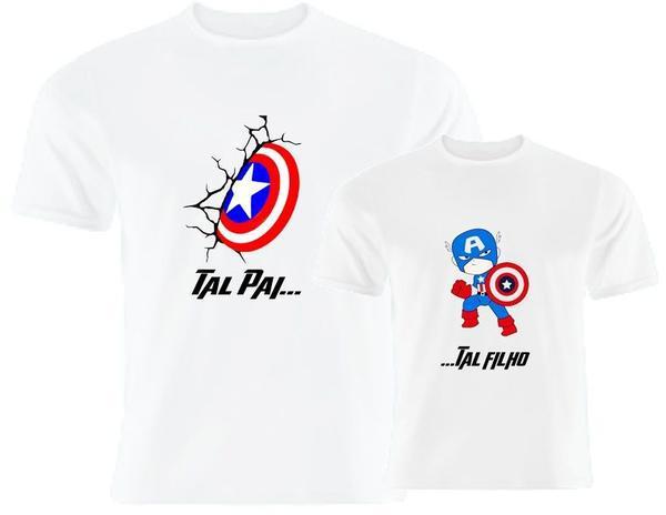 Camiseta personalizada Tal pai, tal filho