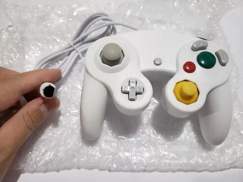 Controle Gamecube E Nintendo Wii Branco