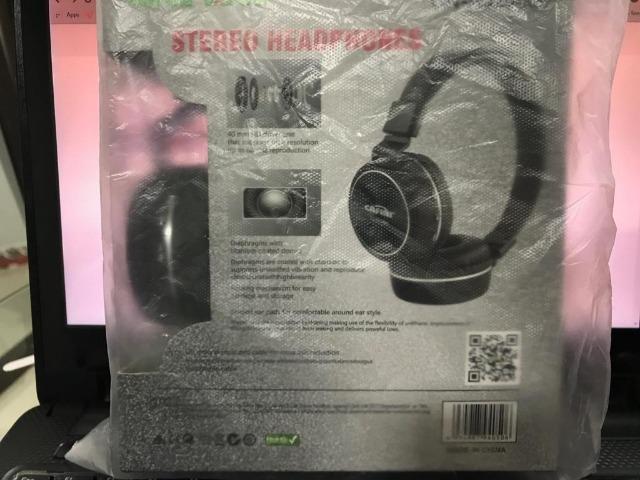 Fone de ouvido sem fio, produtos novos sem uso!