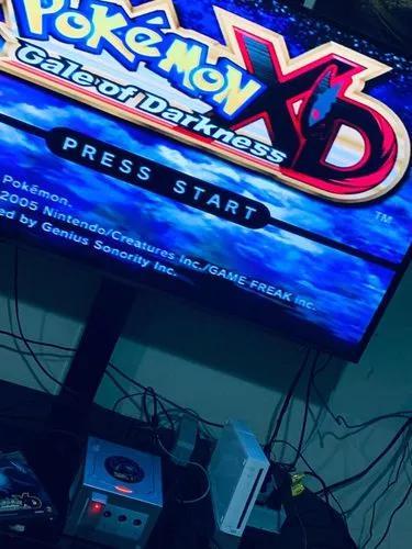Game Cube Pokémon Gale Of Darkness Xd 100% Original E Caixa