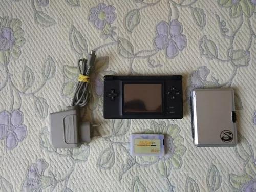 Gba Game Boy Macro Ds Lite Modificado 200 Jogos Usado