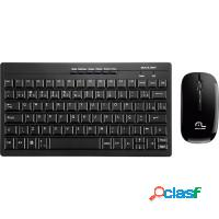 KIT Teclado + Mouse Wireless Sem Fio Multilaser Co