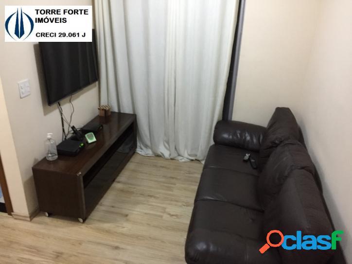 Lindo apartamento mobiliado, 2 dormitórios na V. Carrão. 1