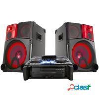 MINI SYSTEM LG 3900W RMS Efeito DJ Multi Bluetooth
